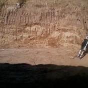 Wykop pod VESTAS V44 Stolno kwiecień 2011